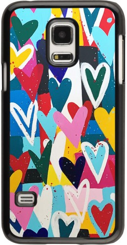 Coque Samsung Galaxy S5 Mini - Joyful Hearts