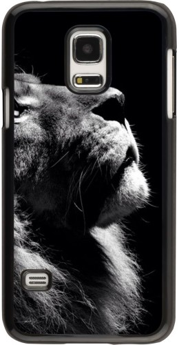 Coque Samsung Galaxy S5 Mini - Lion looking up