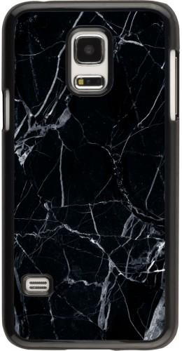 Coque Galaxy S5 Mini -  Marble Black 01