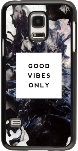 Coque Galaxy S5 Mini -  Marble Good Vibes Only