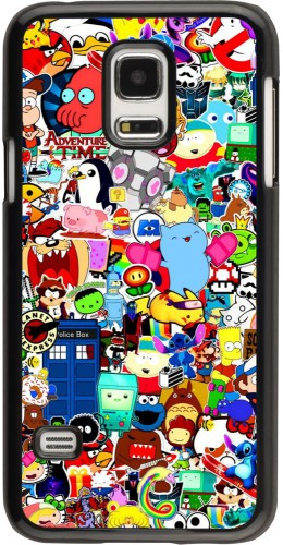 Coque Samsung Galaxy S5 Mini - Mixed cartoons