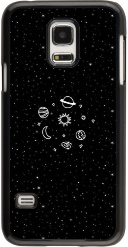 Coque Galaxy S5 Mini - Space Doodle