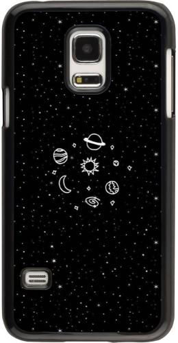 Coque Samsung Galaxy S5 Mini - Space Doodle