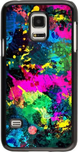 Coque Samsung Galaxy S5 Mini - splash paint