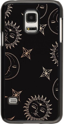 Coque Samsung Galaxy S5 Mini - Suns and Moons