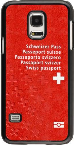 Coque Galaxy S5 Mini -  Swiss Passport