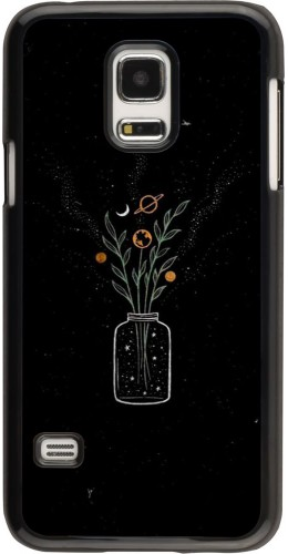 Coque Samsung Galaxy S5 Mini - Vase black
