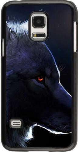Coque Galaxy S5 Mini -  Wolf Shape