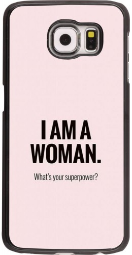 Coque Samsung Galaxy S6 - I am a woman