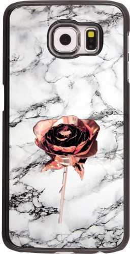 Coque Samsung Galaxy S6 - Marble Rose Gold