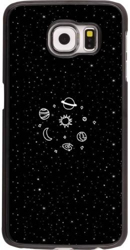 Coque Samsung Galaxy S6 - Space Doodle