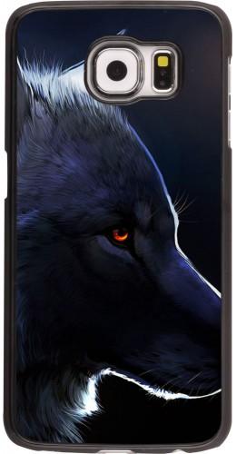Coque Samsung Galaxy S6 -  Wolf Shape