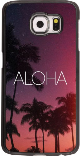 Coque Samsung Galaxy S6 edge - Aloha Sunset Palms