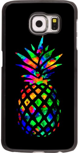 Coque Samsung Galaxy S6 edge - Ananas Multi-colors