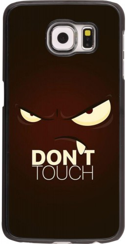 Coque Samsung Galaxy S6 edge - Angry Dont Touch