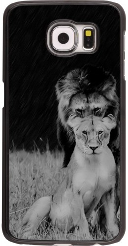Coque Galaxy S6 edge - Angry lions