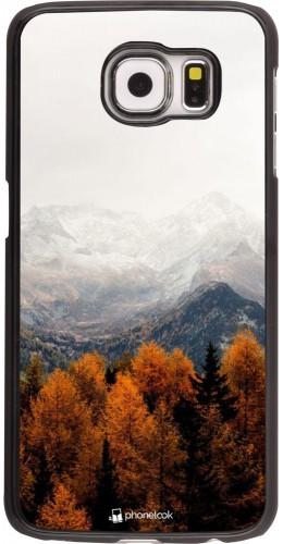 Coque Samsung Galaxy S6 edge - Autumn 21 Forest Mountain