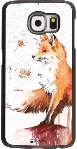 Coque Samsung Galaxy S6 edge - Autumn 21 Fox