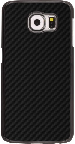 Coque Samsung Galaxy S6 edge - Carbon Basic