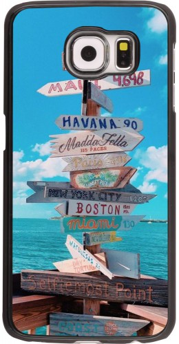Coque Samsung Galaxy S6 edge - Cool Cities Directions