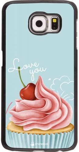 Coque Samsung Galaxy S6 edge - Cupcake Love You