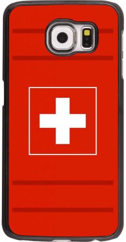 Coque Samsung Galaxy S6 edge - Euro 2020 Switzerland
