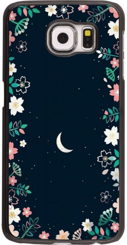 Coque Samsung Galaxy S6 edge - Flowers space