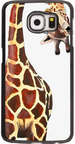 Coque Samsung Galaxy S6 edge - Giraffe Fit