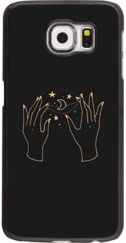 Coque Samsung Galaxy S6 edge - Grey magic hands