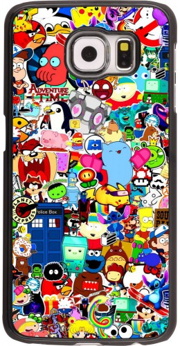 Coque Samsung Galaxy S6 edge - Mixed cartoons