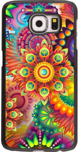 Coque Samsung Galaxy S6 edge - Multicolor aztec