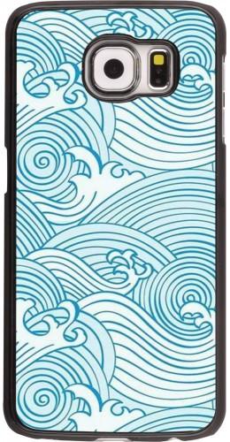 Coque Samsung Galaxy S6 edge - Ocean Waves