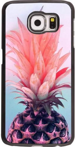 Coque Samsung Galaxy S6 edge - Purple Pink Pineapple
