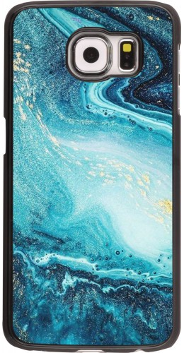 Coque Samsung Galaxy S6 edge - Sea Foam Blue