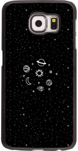 Coque Galaxy S6 edge - Space Doodle