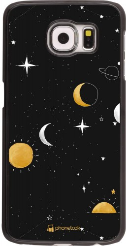 Coque Samsung Galaxy S6 edge - Space Vector