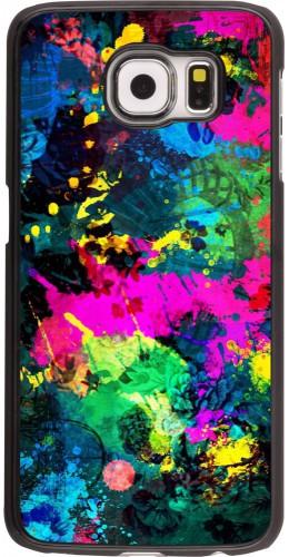 Coque Samsung Galaxy S6 edge - splash paint