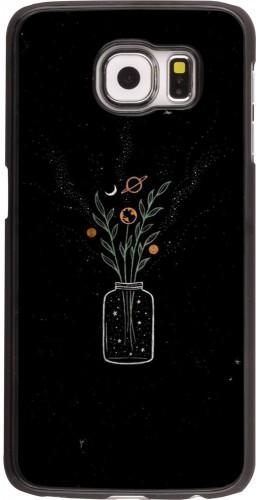 Coque Samsung Galaxy S6 edge - Vase black