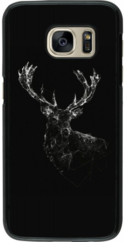 Coque Galaxy S7 - Abstract deer