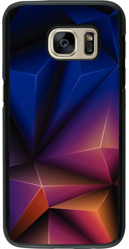 Coque Samsung Galaxy S7 - Abstract triangles