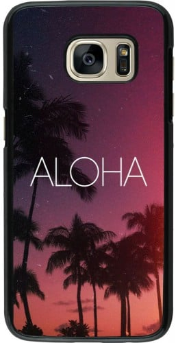 Coque Samsung Galaxy S7 - Aloha Sunset Palms
