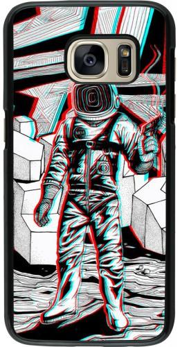 Coque Samsung Galaxy S7 - Anaglyph Astronaut