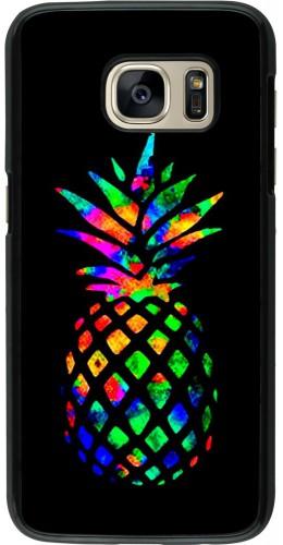 Coque Samsung Galaxy S7 - Ananas Multi-colors