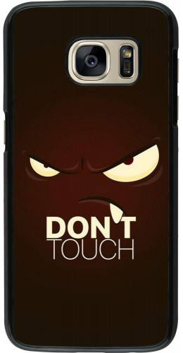 Coque Samsung Galaxy S7 - Angry Dont Touch