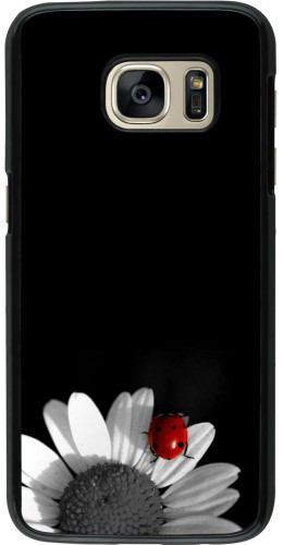 Coque Samsung Galaxy S7 - Black and white Cox