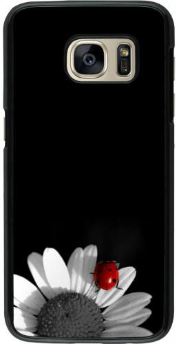 Coque Samsung Galaxy S7 - Black and white Cox