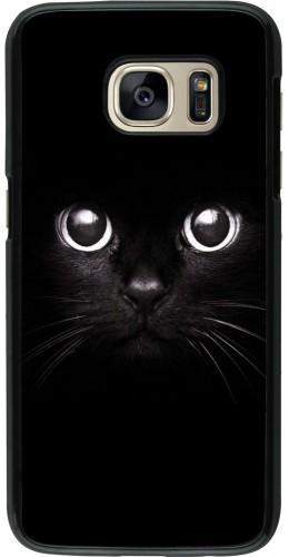 Coque Galaxy S7 - Cat eyes