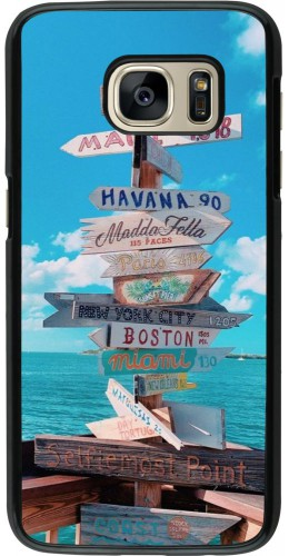 Coque Samsung Galaxy S7 - Cool Cities Directions
