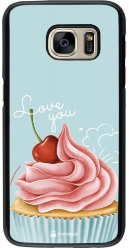 Coque Samsung Galaxy S7 - Cupcake Love You