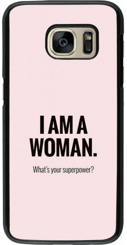 Coque Samsung Galaxy S7 - I am a woman